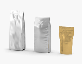 Coffee Bag 3D model