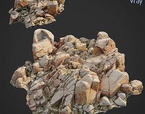 3d scanned rock cliff C2