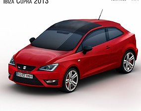 3D model SEAT Ibiza Cupra 2013