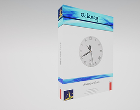 Universal Analogue Clock - Blueprint for Unreal 3D asset 1