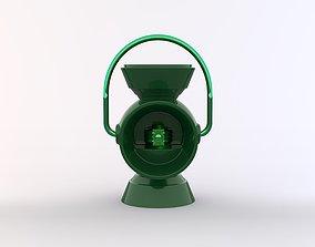 Green Lantern Battery Ring Holder 3D printable model