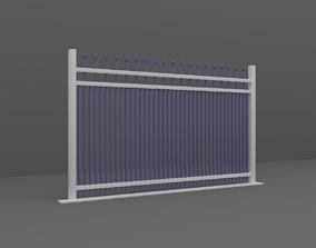 Fence door 3D
