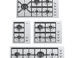 3D Foster gas cooktops