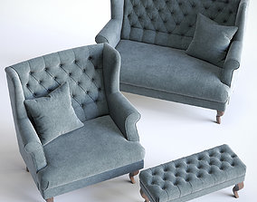 sofa Stockholm Set 3D