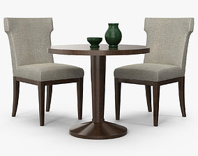 3D model The sofa and chair company - Dahlia chair