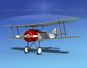 Sopwith Pup Fighter 3D model