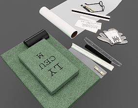 Drawing supplies 3D