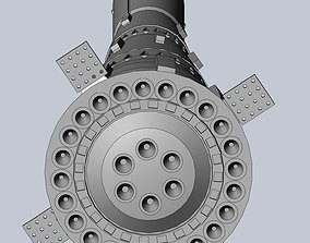 N1-L3 Soviet Moon Rocket Concept Printable