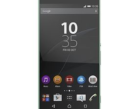3D SONY XPERIA C5 ULTRA DUAL SOFT MINT