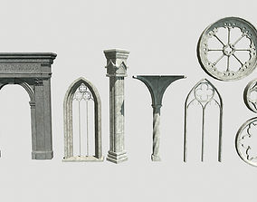 3D model Gothic package
