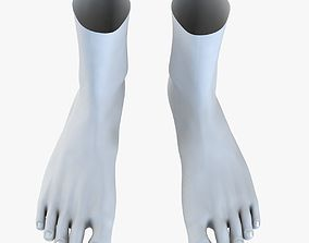 3D Feet Without Texture