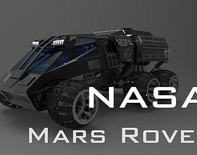 NASA Mars Rover Concept 3D