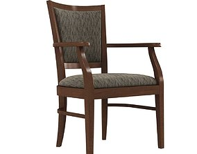 Global furniture desmond armchair 3D model