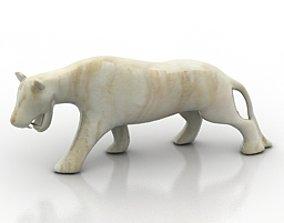 Tiger 3D model nature