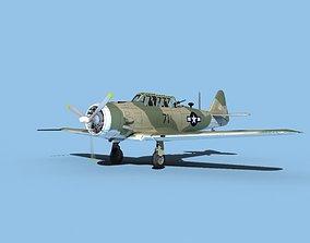 North American AT-6 Texan V03 USAAF 3D