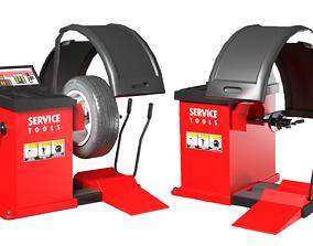 Tire Balancer Machine 3D model