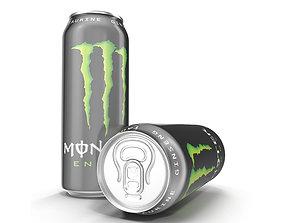 3D Aluminum Can Monster