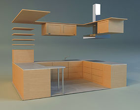 Kitchen lower 3D model