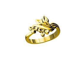 LADIES RING 3D print model printable