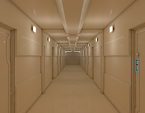 3D asset VR / AR ready Interior Scene