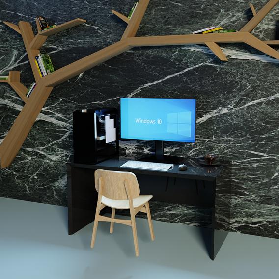 Single Workspace w/environment decorations