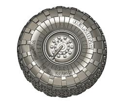 BEL-66A Truck tire 525 70R21 3D printable model