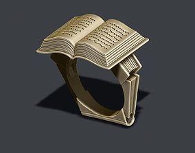 3D print model Book ring