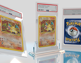 3D Pokemon Card With Display Stand