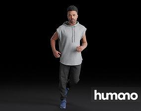 Humano Running Man 0805 3D