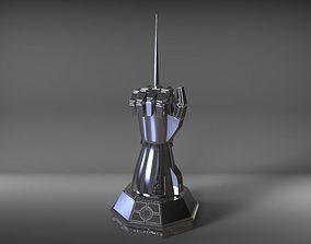 3D printable model ROBOCOP HAND STATUE