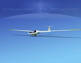 Glaser Dirks DG200 15Mtr Sailplane V10 3D model