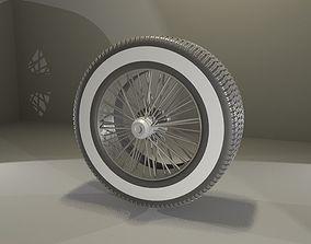3D model Old School Tire