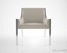 3D Holly Hunt Aileron Lounge Chair