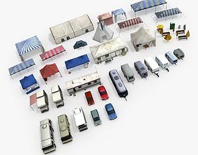 3D asset Camping Pack