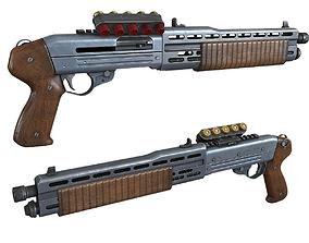 Game Ready Shotgun 3D model