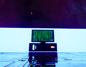COMPUTER 3D asset realtime