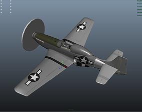 The P51D Mustang 3D model