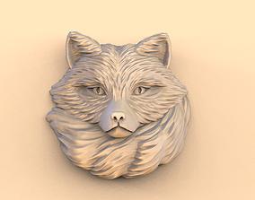 Fox pendant 3D print model mammal