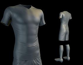 3D model Soccer Uniform
