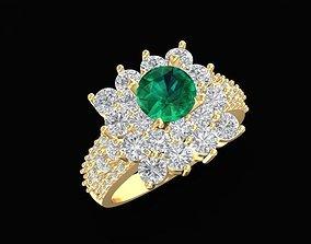 1473 Diamond Ring 3D print model