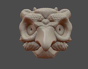 Owl Mask Illusion 3D print model