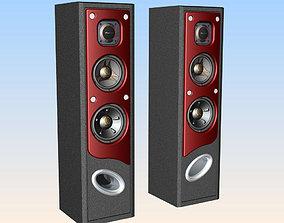 Surround Speaker 3D print model