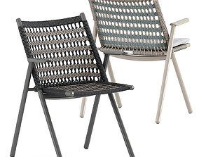 Anatra armchair by Janus et Cie 3D