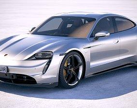 Porsche Taycan 2020 VRAY 3D model