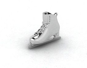 3D printable model ice-skating shoes