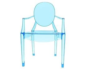 Kartell Louis Ghost Chair 3D model