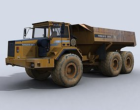 3D asset Articulated Dump Truck