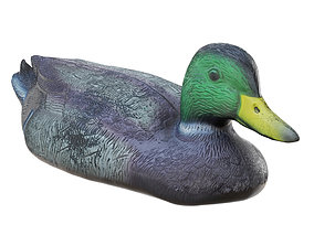 3D model Decorative duck for artificial ponds and pools