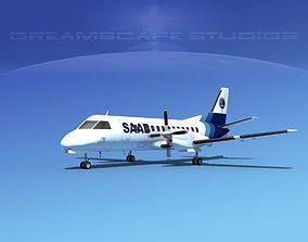 3D SAAB SF340 SAAB