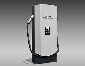 3D model Electric Vehicle Charger